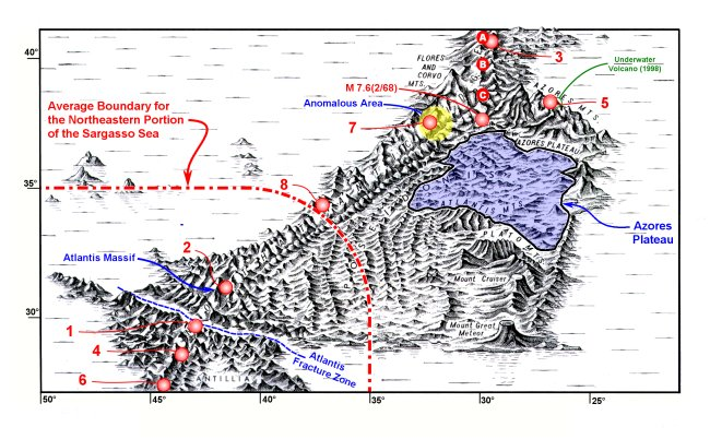 Sea Floor Elevation Map : Hutton commentaries articles
